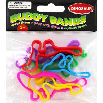 Jumbo Buddy Bands - Dinosaur - 6 Pack image number 1