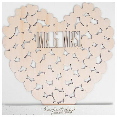 Wooden Wedding Wishes image number 1
