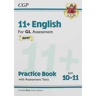 CGP 11+ English: Practice Book with Assessment Tests image number 1
