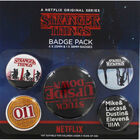 Stranger Things Upside Down Badge Pack image number 1