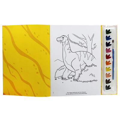 Dinosaurs Prehistoric Pals Poster Paint Book image number 2