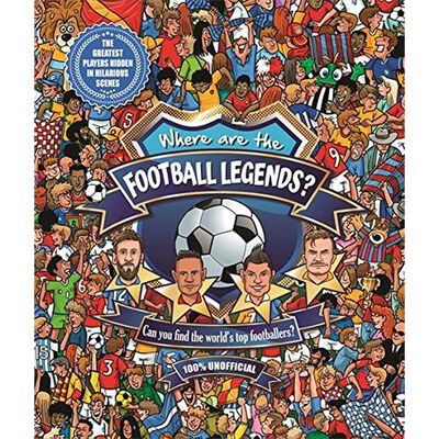 Where are the Football Legends? image number 1