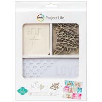 American Crafts: Project Life Heidi Swapp 60 Piece Card Kit
