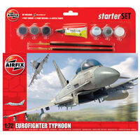Airfix A50098 Eurofighter Typhoon 1:72 Scale Model Large Starter Set