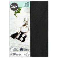 Sizzix A4 Surfacez Shrink Plastic Black Gloss