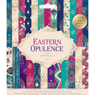 6x6 Paper Pad Eastern Opulence image number 1