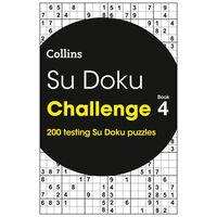 Sudoku Challenge Book 4