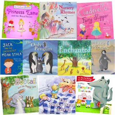 Teddy Bear Secrets: 10 Kids Picture Books Bundle image number 1