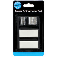 Eraser And Sharpener Set