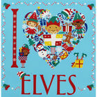 I Heart Elves Colouring Book image number 1