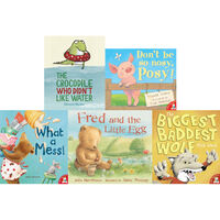 Lazy Ozzie and Friends: 10 Kids Picture Books Bundle