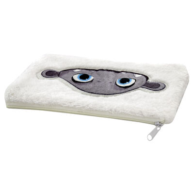 Abominable Furry Plush Pencil Case image number 2