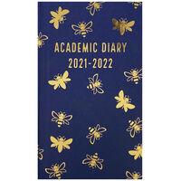 Navy Bee 2021-2022 Slim Week to View Diary