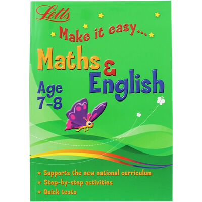 Letts Maths and English: Age 7-8 image number 1