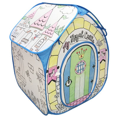 Colour Your Own Play Castle Tent image number 1