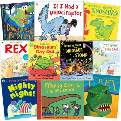Dinosaurs Galore: 10 Kids Picture Books Bundle image number 1