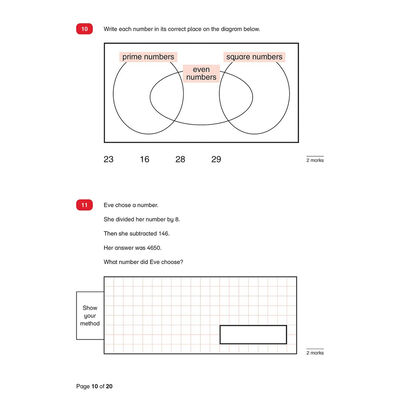 KS2 SATs Maths and English Practice Papers: Ages 10-11 image number 2