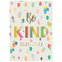A5 Be Kind 2021-2022 Week to View Diary