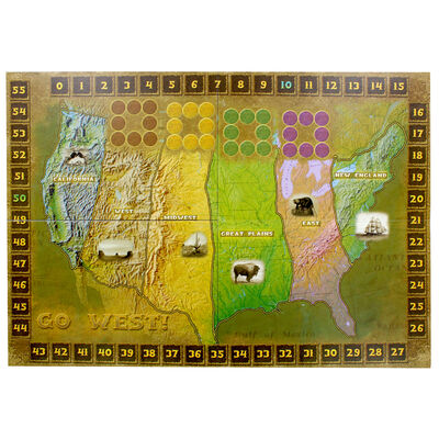 Go West Strategy Board Game image number 2