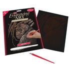 Ape Engraving Art image number 1