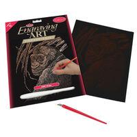 Ape Engraving Art