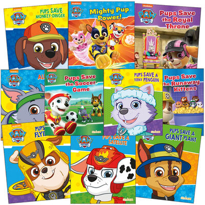 Paw Patrol: 10 Kids Picture Books Bundle image number 1