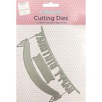 Happy Birthday Banner Metal Cutting Die Set