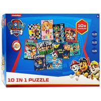 Paw Patrol 10-in-1 Jigsaw Puzzle