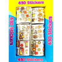 480 Foil Stickers
