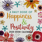 A Daily Dose of Happiness 2020 Desk Calendar image number 1