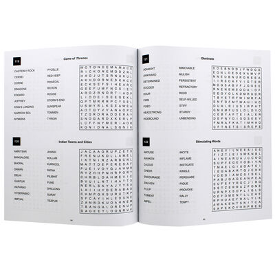 Classic Wordsearch: Dark Blue image number 2