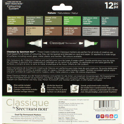 Spectrum Noir Classique - Nature - 12 Pack image number 2