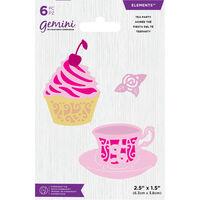 Gemini Mini Elements Die - Tea Party