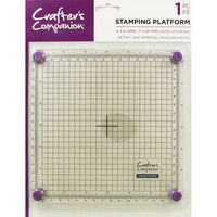 Crafter's Companion Stamping Platform - 6x6 Inch