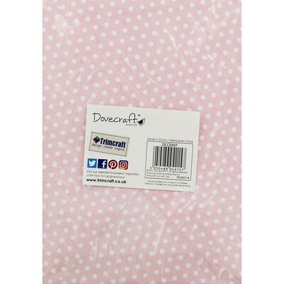 8 Pastel Polka Dot Cards - 5 Inches x 7 Inches image number 4