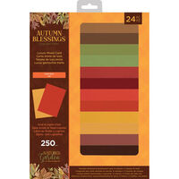 Nature's Garden Autumn Blessings A4 Luxury Mixed Card