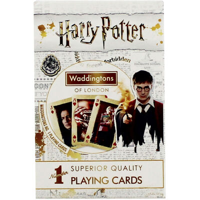 Harry Potter Superior Quality Playing Cards image number 1