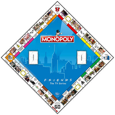 Friends Monopoly Board Game image number 2