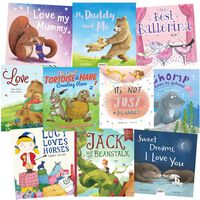 I Love My Family And Friends: 10 Kids Picture Books Bundle