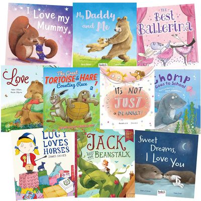 I Love My Family And Friends: 10 Kids Picture Books Bundle image number 1