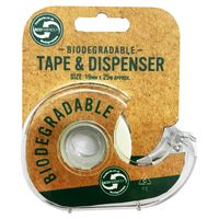Biodegradable Tape and Dispenser