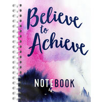 A4 Wiro Believe To Achieve Notebook