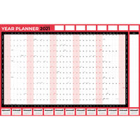 Wall Planner with Pen and Adhesive Dots