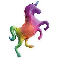 Rainbow Unicorn Super Shape Helium Balloon