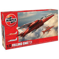 Airfix Folland Gnat T.1 1:72 Scale Model Set