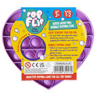Pop 'N' Flip Bubble Popping Fidget Game: Assorted Heart image number 6