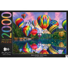 Mindbogglers Artisan In the Jungle & Balloon Festival 2000 Piece Jigsaw Puzzle Bundle image number 3