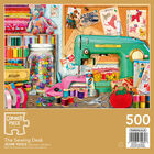 The Sewing Desk 500 Piece Jigsaw Puzzle image number 3