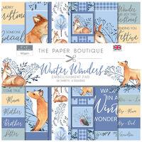 Winter Wonders Embellishment Pad