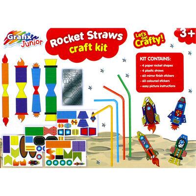 Rocket Straws Craft Kit image number 4